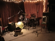 Jennye Hoffman basement - our jam room